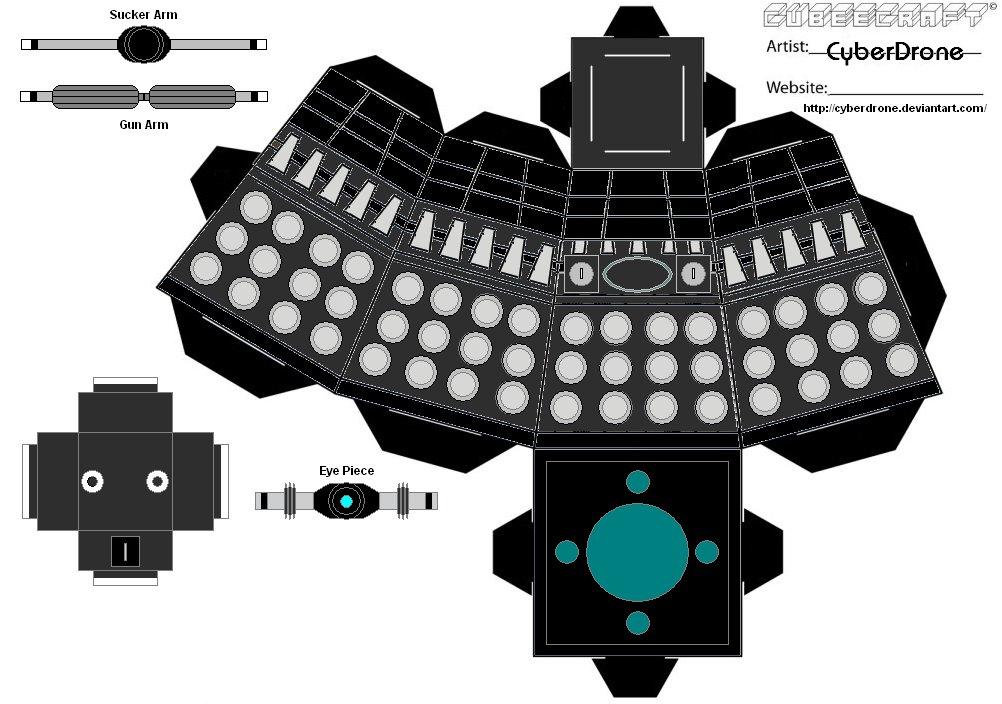 Cubee___Classic_Dalek_3_by_CyberDrone