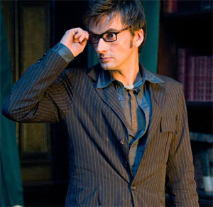 David Tennant stars as the current Doctor.