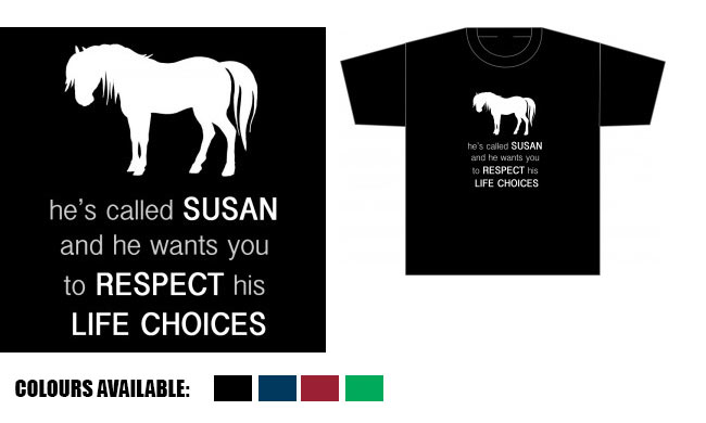 Dr Who Horse Tee